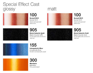 Special Effect Cast - Colors